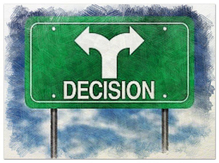 Mejor que que una gran decisión son muchas pequeñas