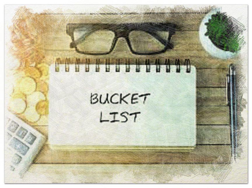 Como hacer tu bucket list II
