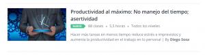 Curso online Productividad al máximo